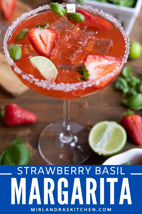 strawberry basil margarita promo image