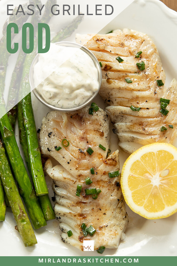 easy grilled cod promo image