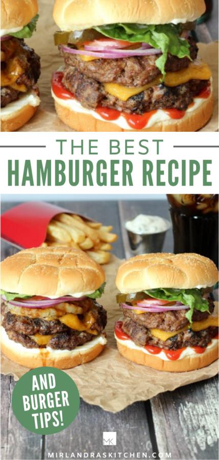 the best hamburger recipe promo pic
