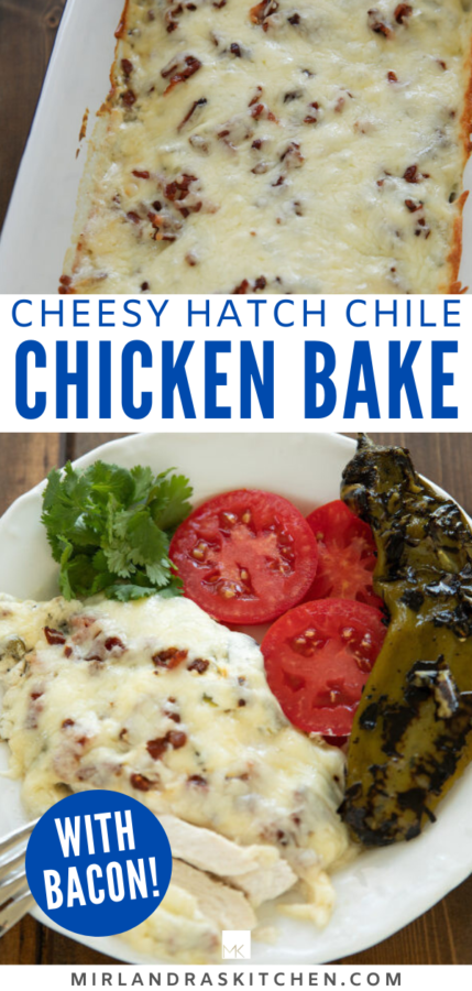 hatch chile chicken bake promo image