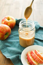 I call this my 10 easy minutes to heaven caramel sauce! Rich, buttery, smooth and all things decadent caramel is supposed to be! Well except one! Where most caramel is hard this one is a no fail - can't loose recipe! So go ahead - make up a batch and drizzle it in coffee, dunk apples in it, and by all means spoon it over every dessert you make!