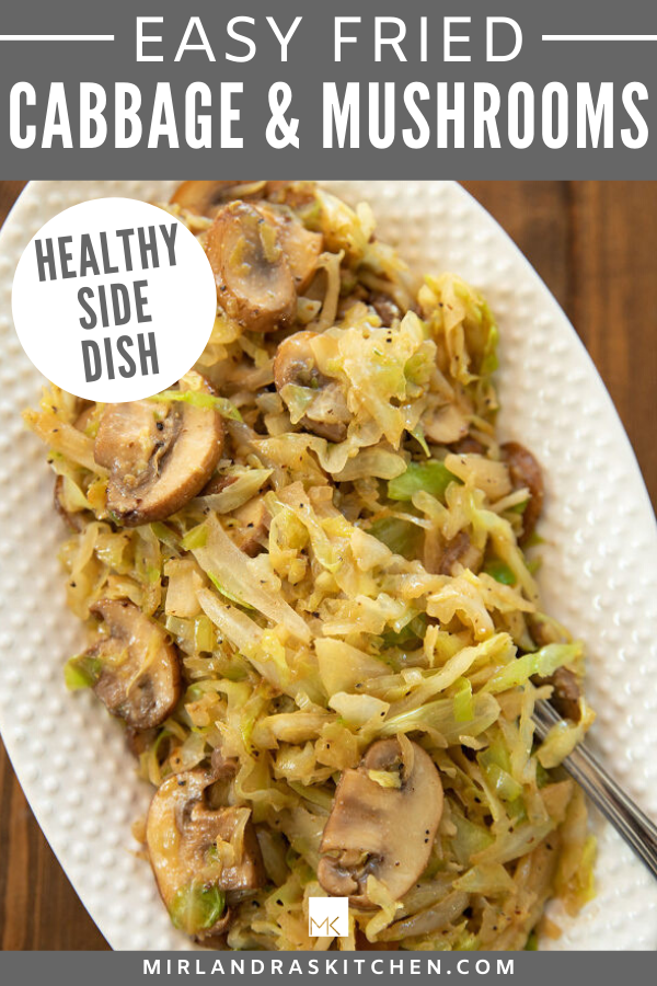 EASY FRIED CABBAGE RECIPE PROMO IMAGE
