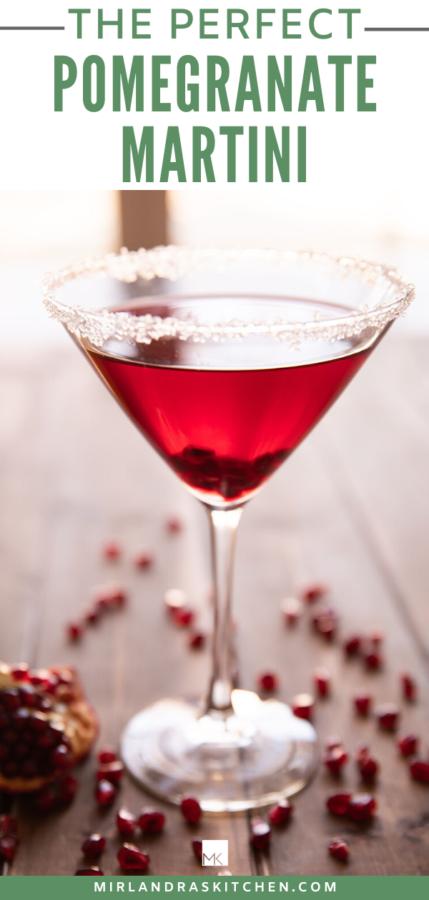 pomegranate martini promo image