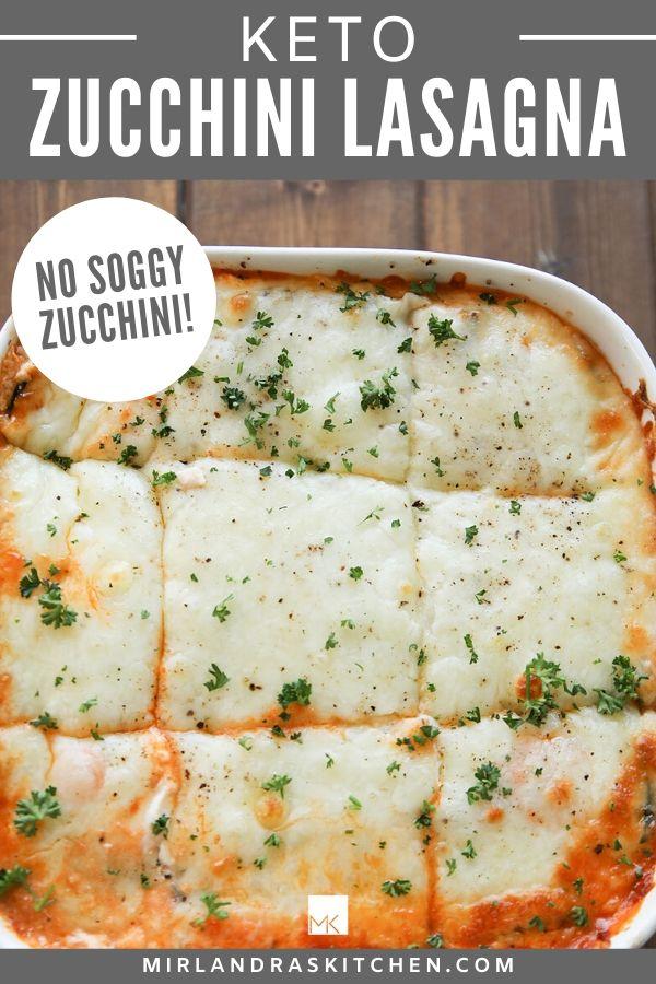 keto zucchini lasagna promo image