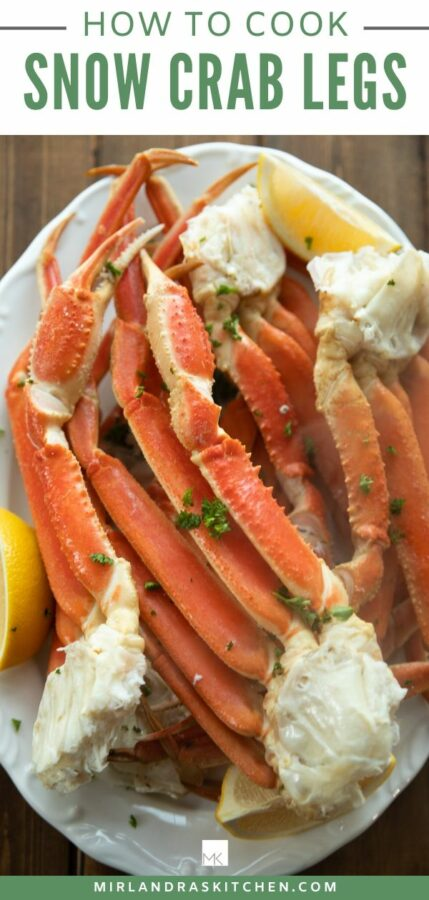 How To Cook Snow Crab Legs Promo Image