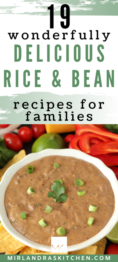 rice and bean recipes promo image