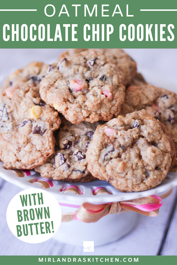 OATMEAL CHOCOLATE CHIP COOKIES WITH BROWN BUTTER PROMO IMAGE