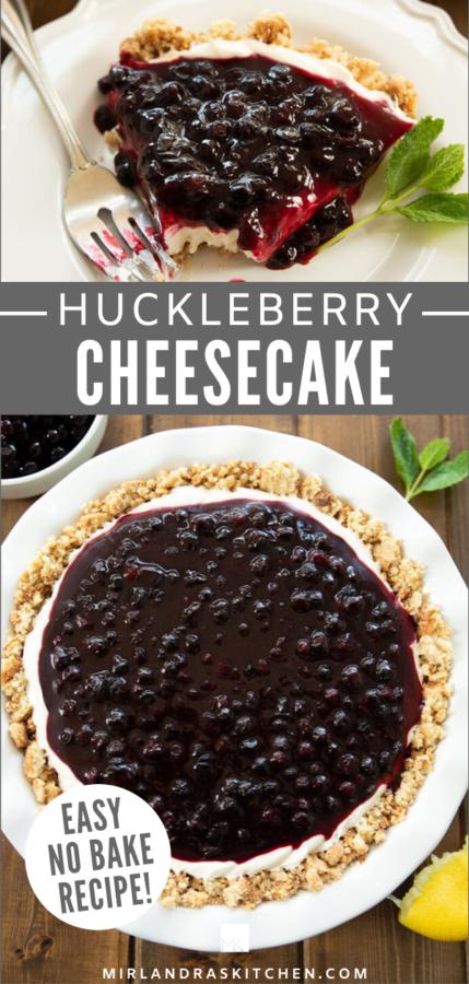 huckleberry cheesecake promo image