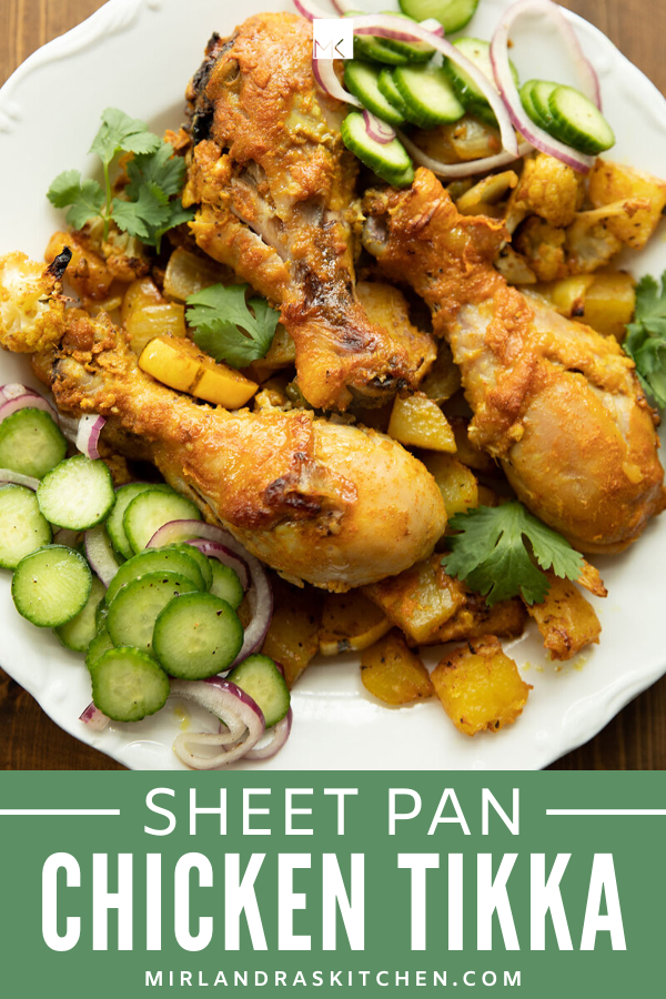 SHEET PAN CHICKEN TIKKA PROMO IMAGE