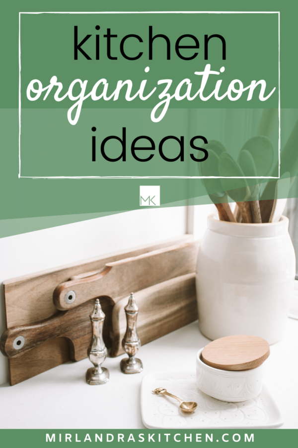 kitchen organization ideas promo image
