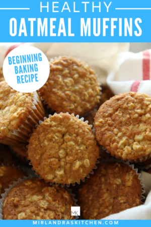 healthy oatmeal muffins promo image