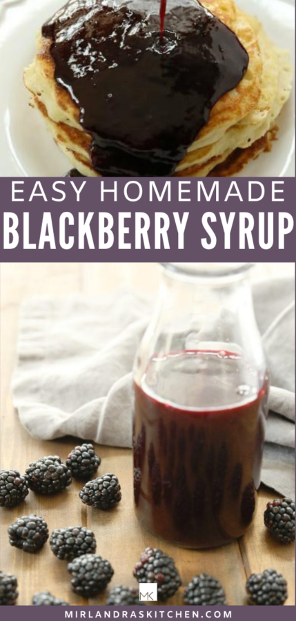 blackberry syrup promo image