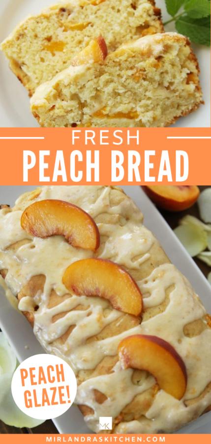 peach bread promo image