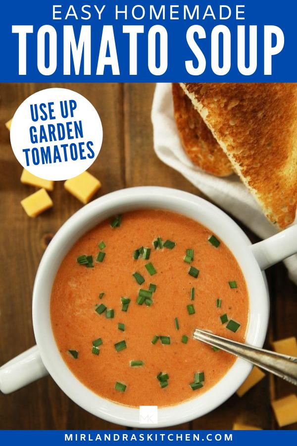 homemade tomato soup promo image