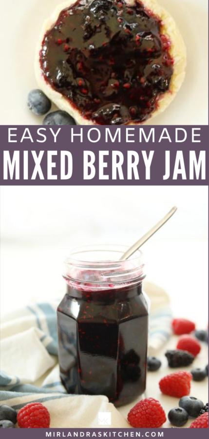 mixed berry jam promo image