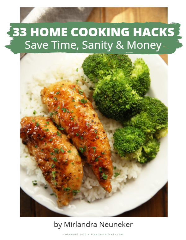 Image of digital product 33 Home Cooking Hacks.