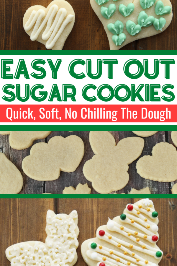 cut out sugar cookies promo image