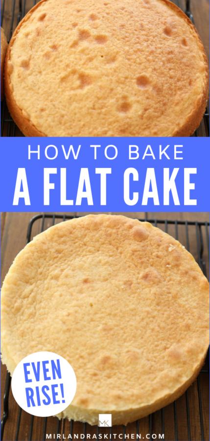 promo image how to bake a flat cake