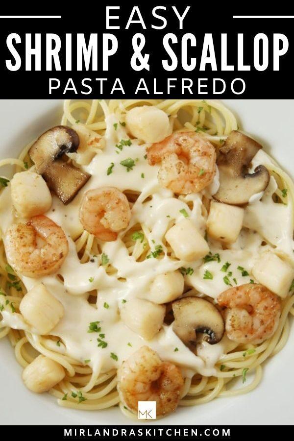 shirmp and scallop pasta promo image